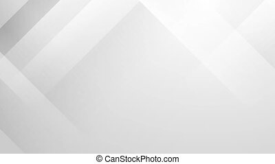 Grey abstract technology minimal motion background. Video...