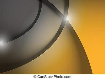 grey and orange wave lines graphic illustration design...