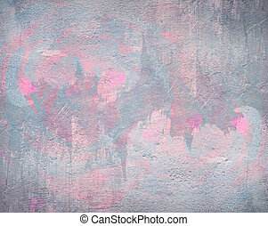 Grey and pink background abstract watercolor