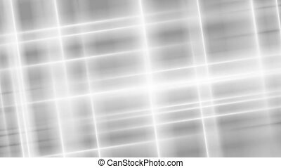 Grey and white abstract smooth stripes video animation -...
