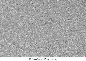Textured medium grey background.