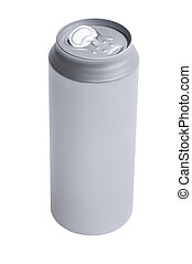 Grey beverage can