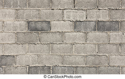Grey block wall texture