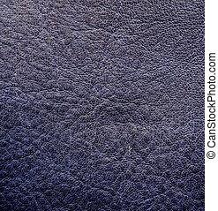 grey-blue leather texture.   - grey-blue leather texture