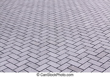grey brick pattern - i thought this might make a nice...