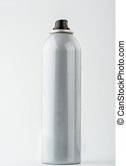 Grey can of hair spray - Nice grey can of hair spray ...