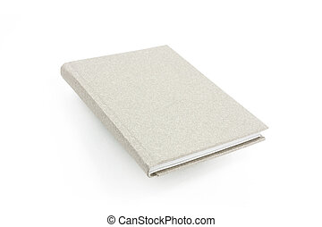grey case bound book - grey cover hard back case bound book