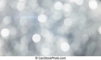 grey circle bokeh lights seamless loop background