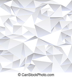 Grey crumpled abstract background. Vector eps10