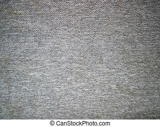 Grey fabric - Pre-shrunk car ceiling carpet texture.