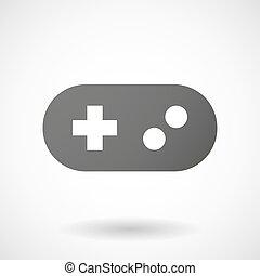 Grey game pad