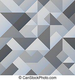 Grey geometric background