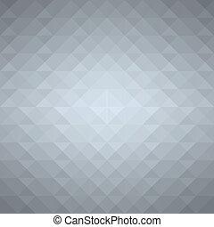 Grey geometric background. Vector EPS10