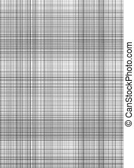 grey gingham pattern - seamless texture of woven square...
