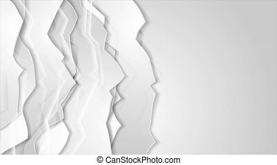 Grey glossy abstract corporate motion background - Grey ...