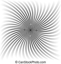 Grey gradient spiral background design