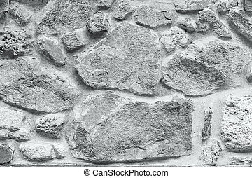 Grey grunge stone wall background texture