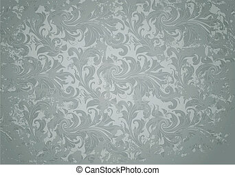 Grey Grunge Vintage pattern, vector
