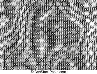 grey knitting pattern
