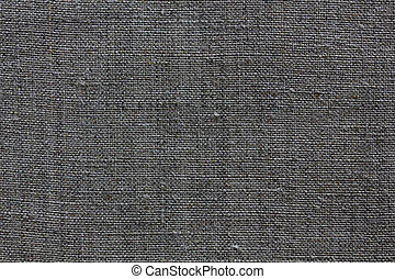 grey linen texture for the background - dark grey natural...