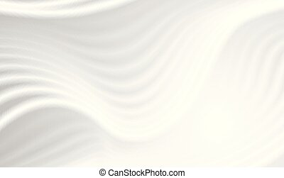 Grey liquid 3d refracted waves abstract background