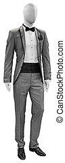 Grey man's suit