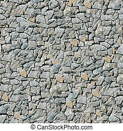 Grey masonry seamless background.