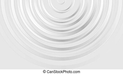Grey modern glossy abstract circles video animation - Grey...