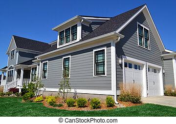 Grey New England Dream Home