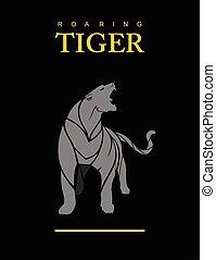 grey., puma, tiger, puma., destemido