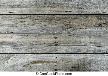 Rustic Wooden Background With Horizontal Planks