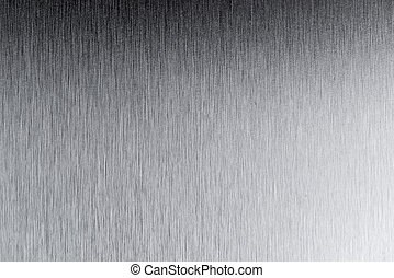 Grey stainless steel texture background.