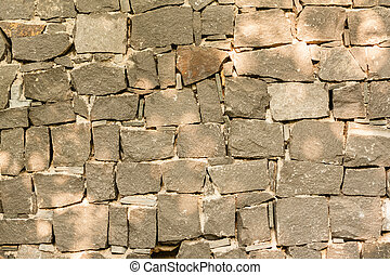 Grey stone wall background