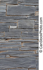 Grey stone wall background - vertical