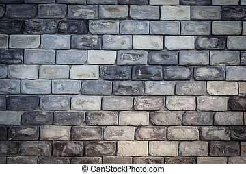 Grey Stone wall texture background