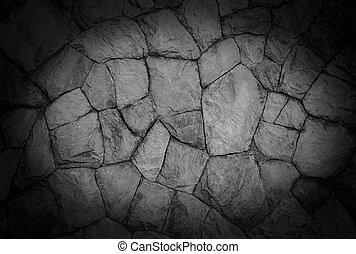 Grey stone wall textured background