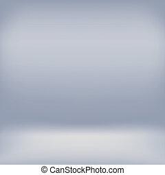Grey studio room backdrop background.