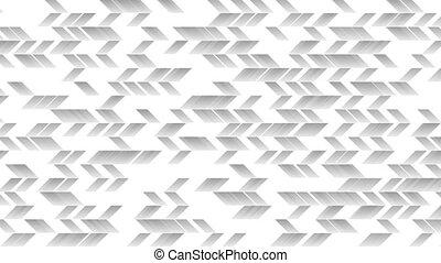 Grey tech geometric abstract video animation