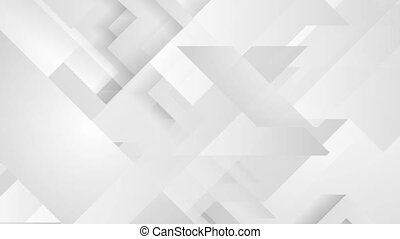 Grey tech minimal motion background - Grey tech geometric...