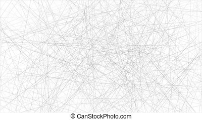 Grey thin low poly network lines abstract technical motion ...