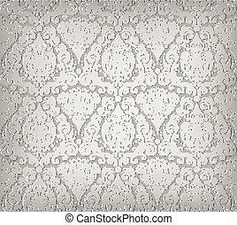 Grey wallpaper pattern