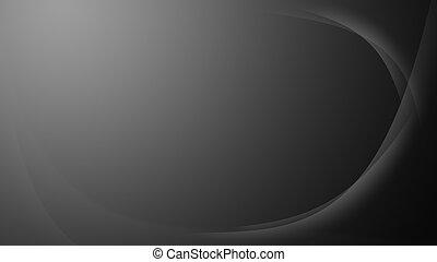 Grey wavy gradient background wallpaper