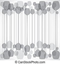 Grey wine glass background
