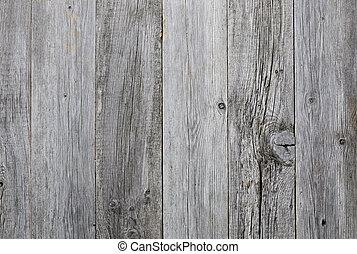 Grey wood - Grey weathered wooden background texture