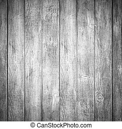 grey wooden background or white planks texture