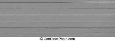 Grey wooden texture background. Copy space, text place. Wood finish material shop. Natural banner. Painted plank timber. Wall lining. Rustic mockup. Indoor interior. Horizontal lines. Pantone color