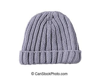 grey woolen winter hat
