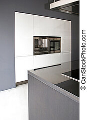 Greyscale kitchen