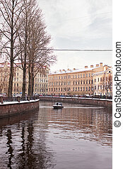Griboyedov Canal. Winter