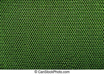 Grid background, green tone